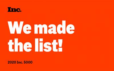 Saarthee Included in top Half of Inc. 5000 List of Fastest-Growing Companies